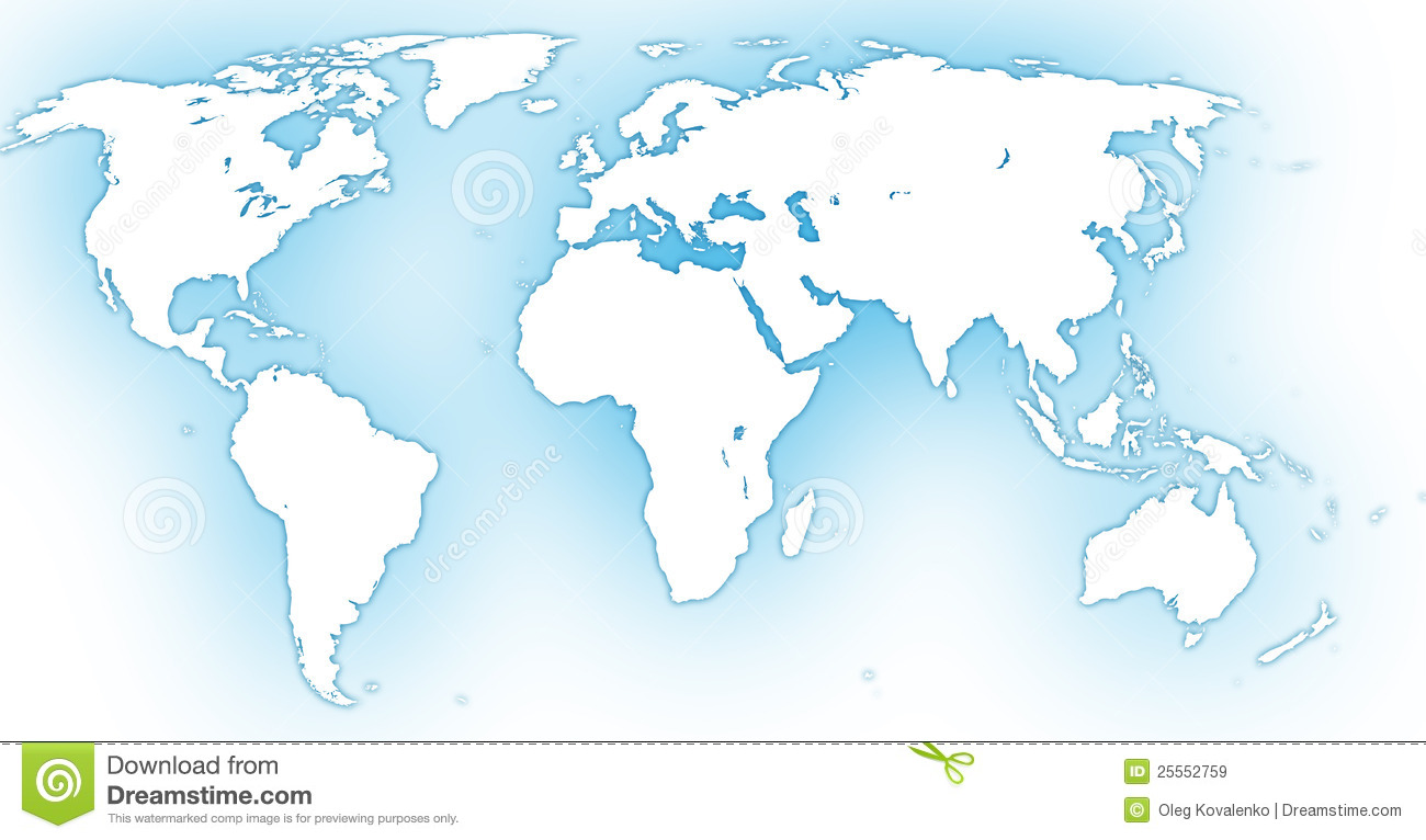 World map stock illustration image of global blue country world map sciox Images
