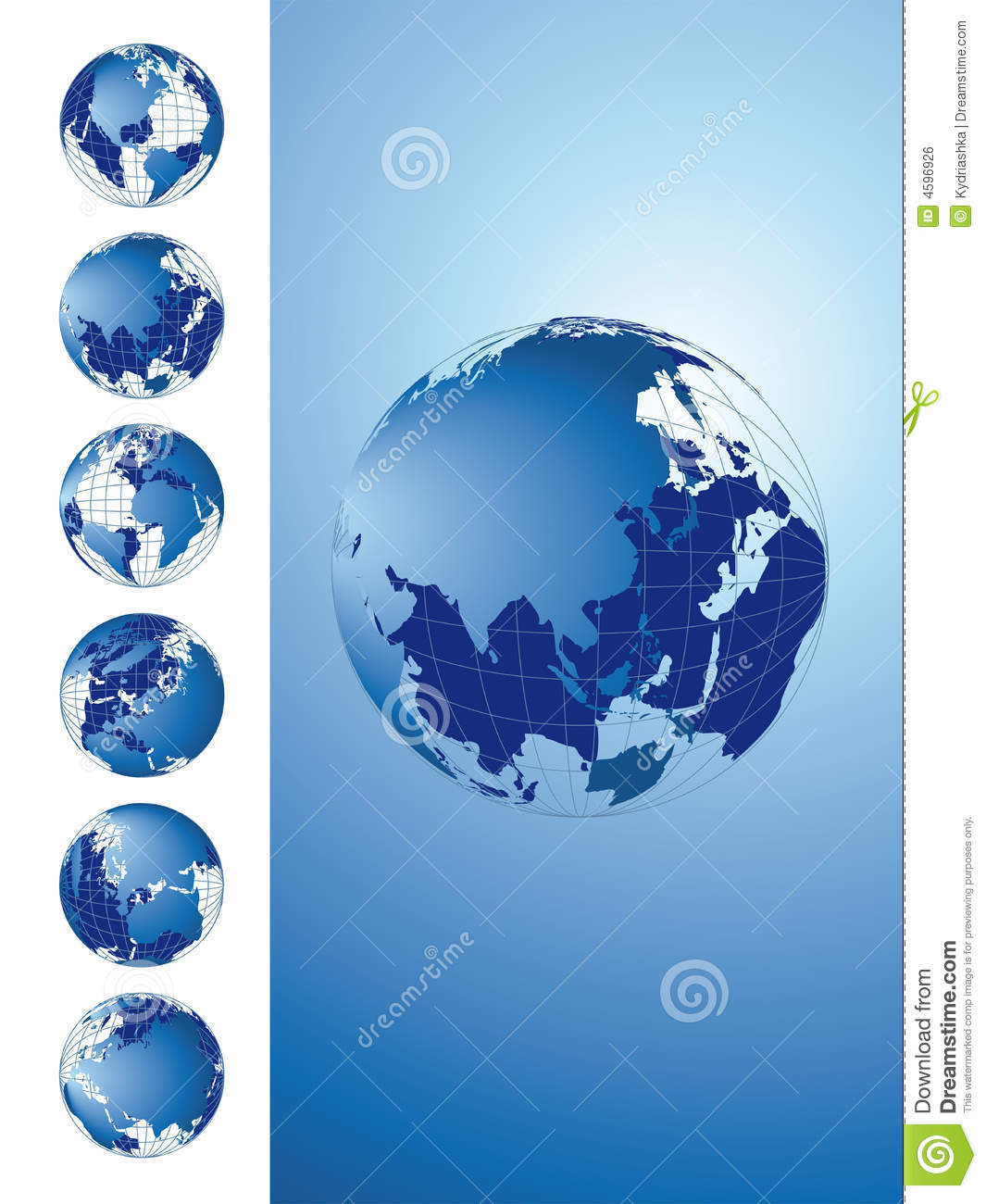 World map 3d globe series stock illustration illustration of world map 3d globe series gumiabroncs