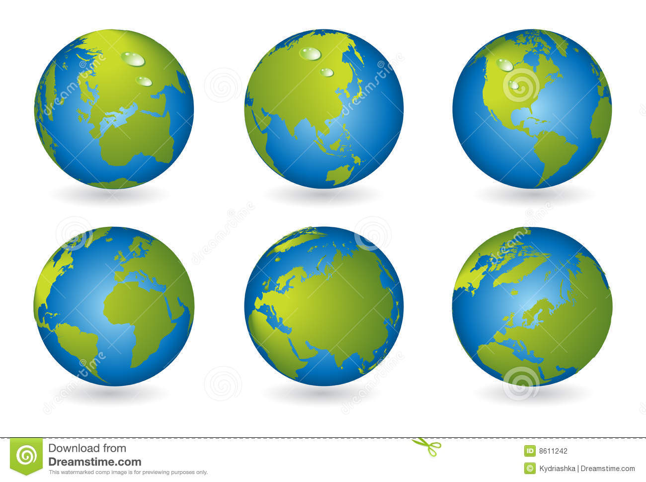 3d World Globe Map Vector Icon Stock Photography - Image: 29238662