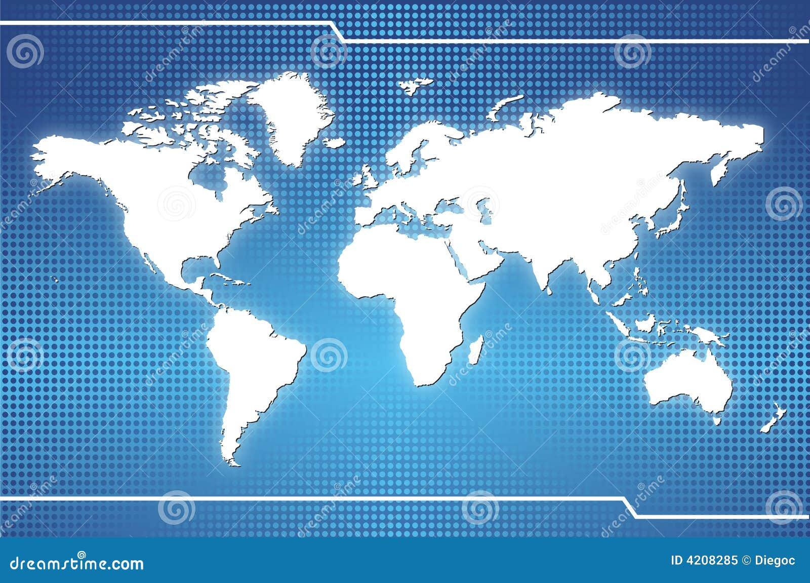 World map stock illustration illustration of australia 4208285 world map royalty free stock photo gumiabroncs Images