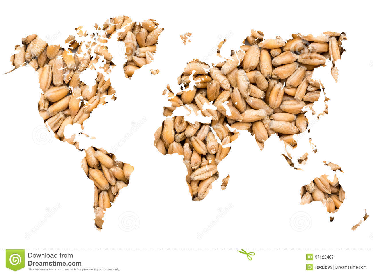 World Map Agriculture Concept Stock Image   Image of earth, beans