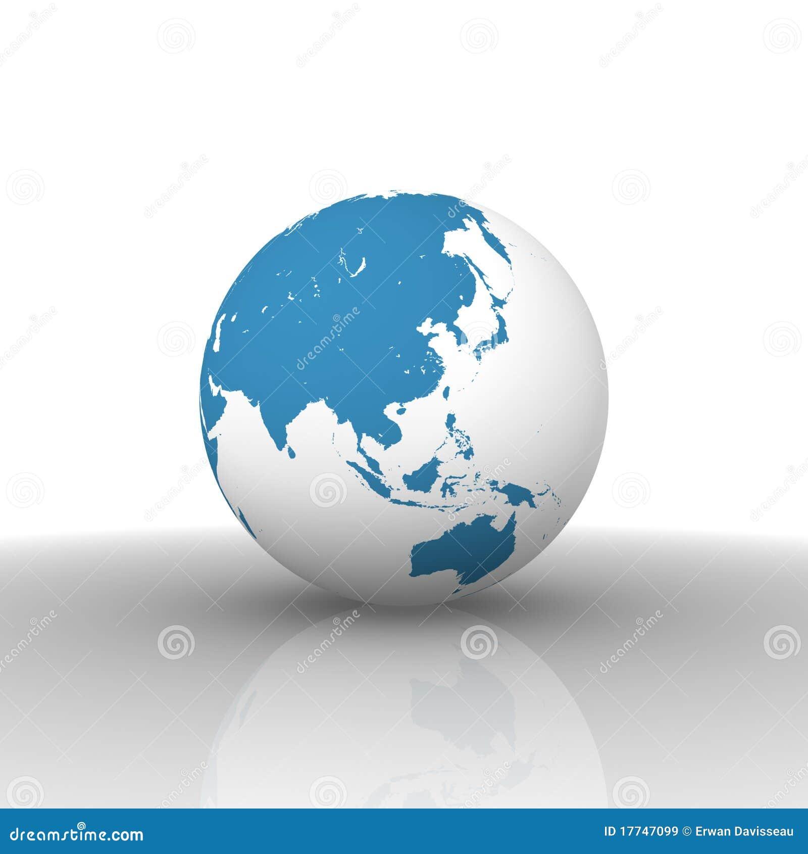 World map asia stock illustration illustration of blue 17747099 world map asia gumiabroncs Gallery