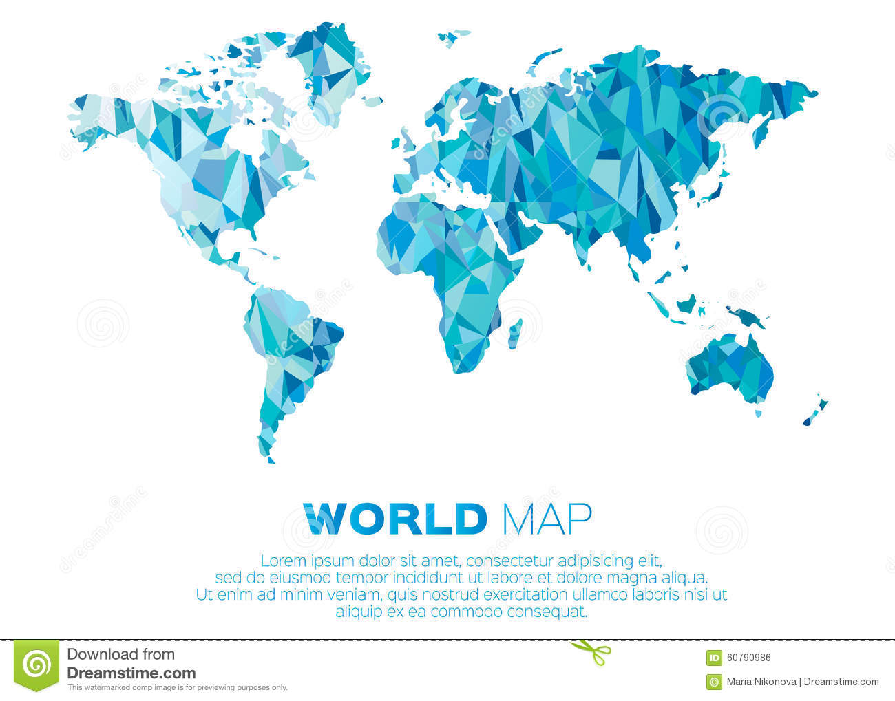 World map background in polygonal style stock vector illustration world map background in polygonal style royalty free vector download gumiabroncs Choice Image