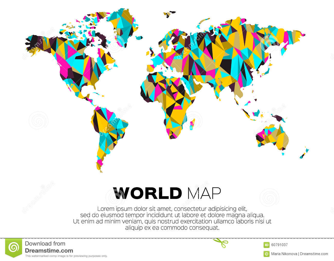 World map background stock vector illustration of color 60791037 download comp gumiabroncs Gallery