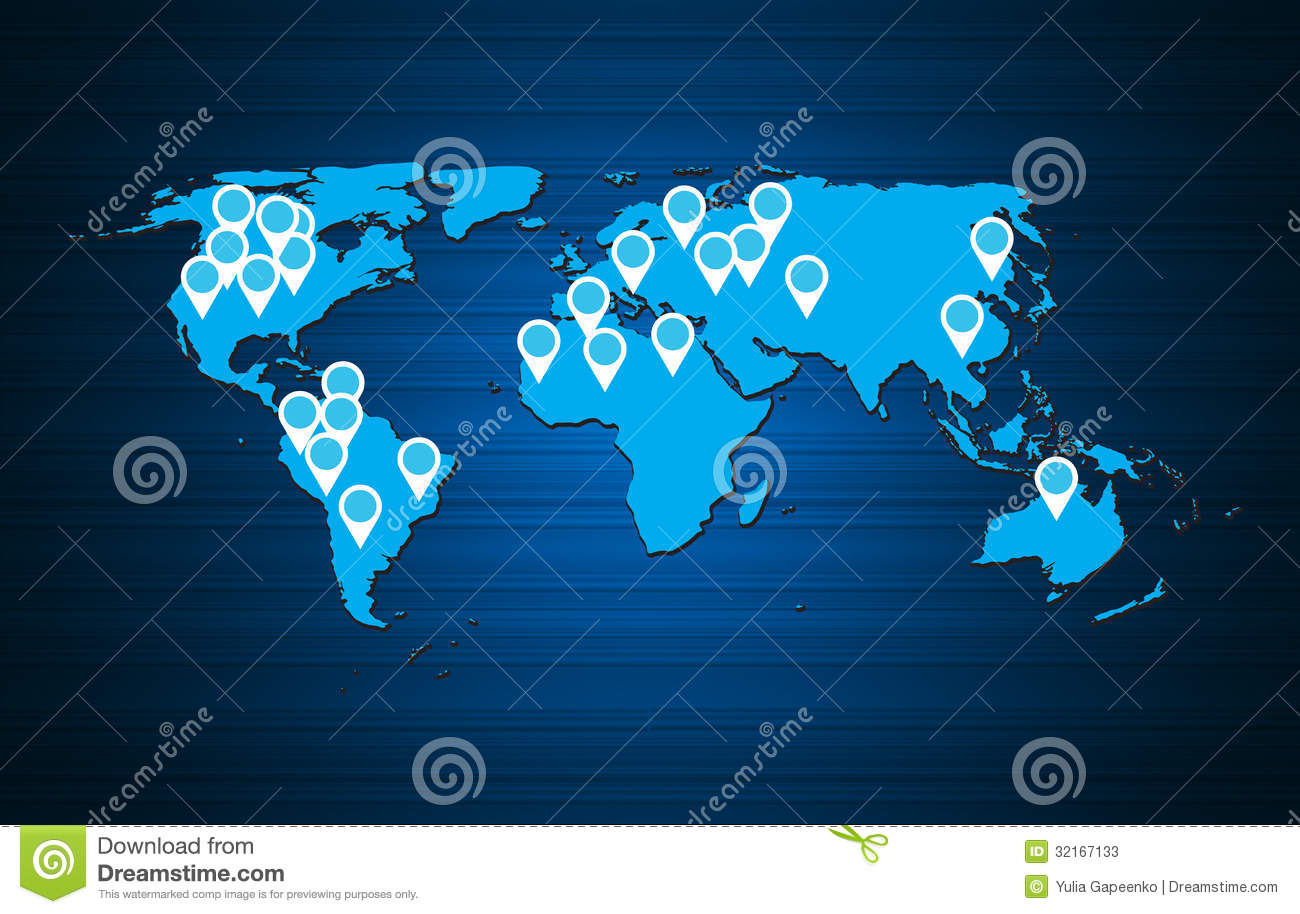 world map background vector - photo #3