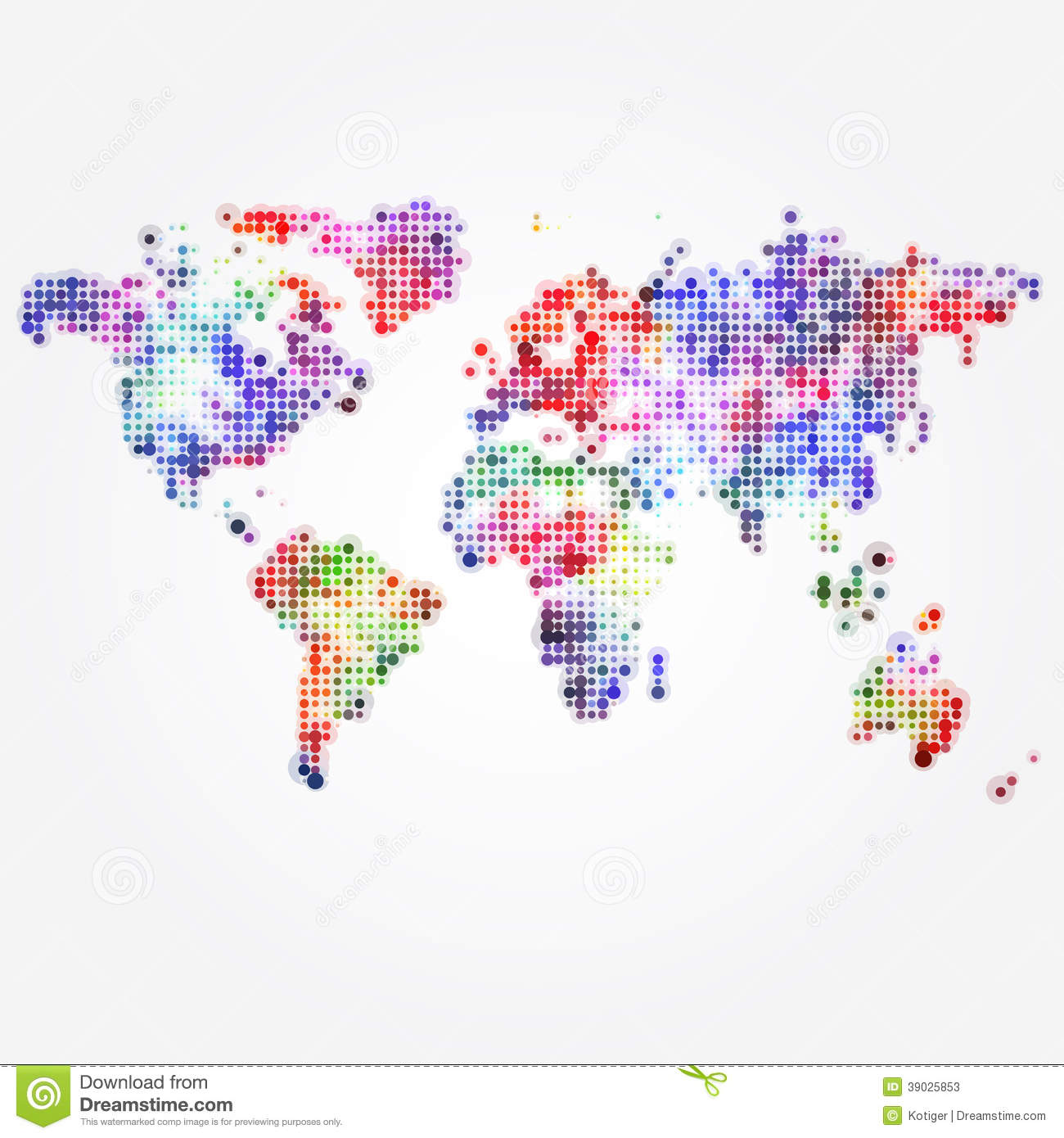 Watercolor World Map Desktop Wallpaper Colorful
