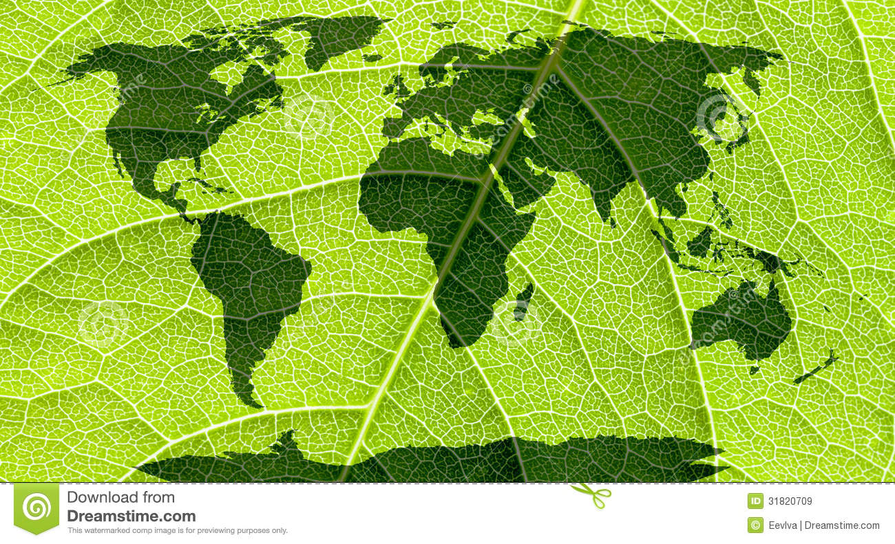 Robocast play the web thumbsdreamstimezworld map continents green leaf background 31820709g gumiabroncs Gallery