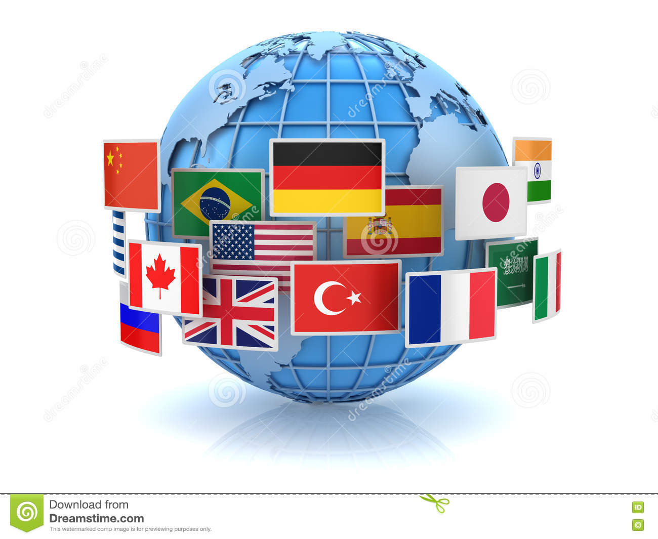 World map and country flags stock illustration illustration of download world map and country flags stock illustration illustration of europe global 74091610 gumiabroncs Choice Image