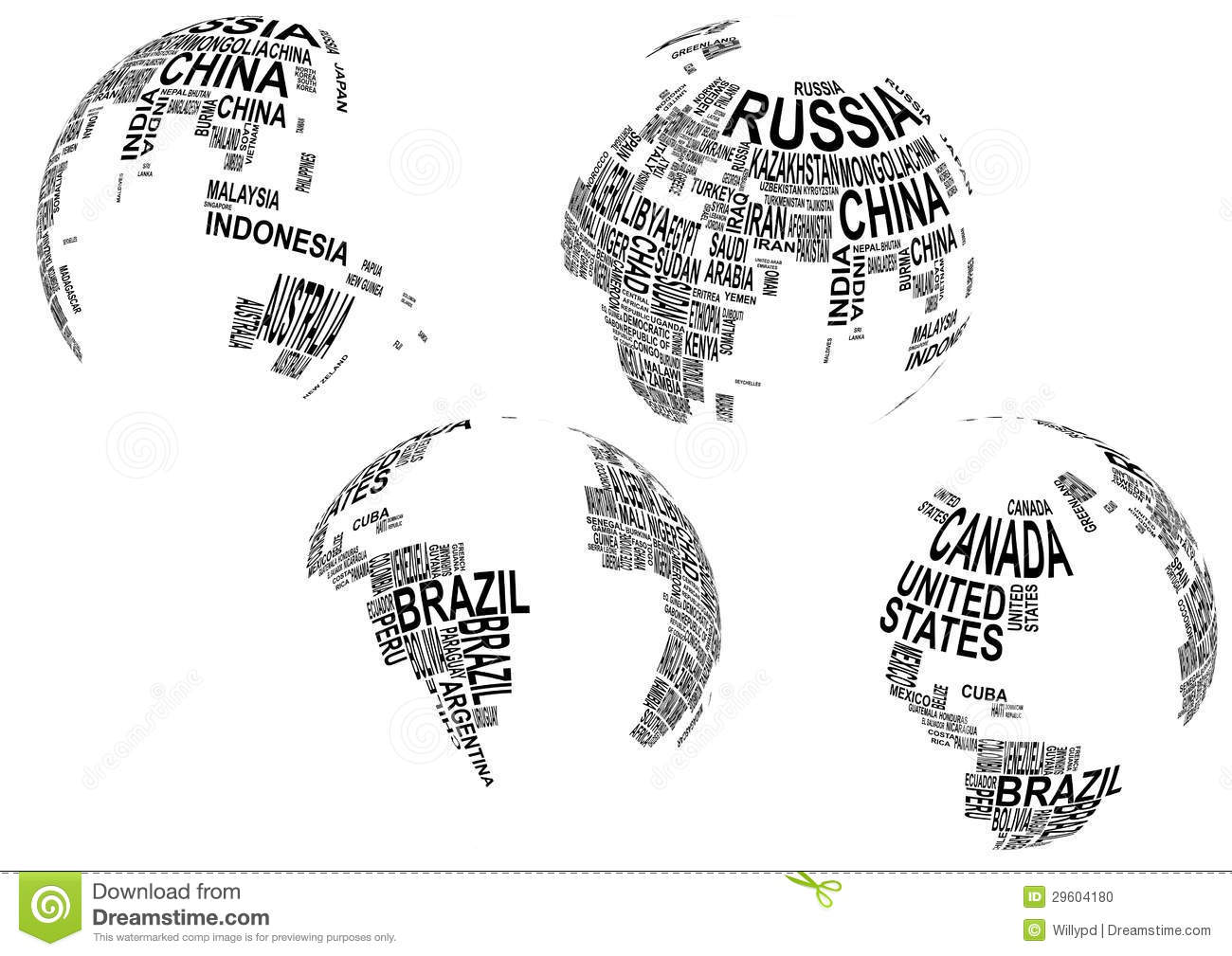 World map with country name stock vector illustration of pacific world map with country name gumiabroncs Gallery