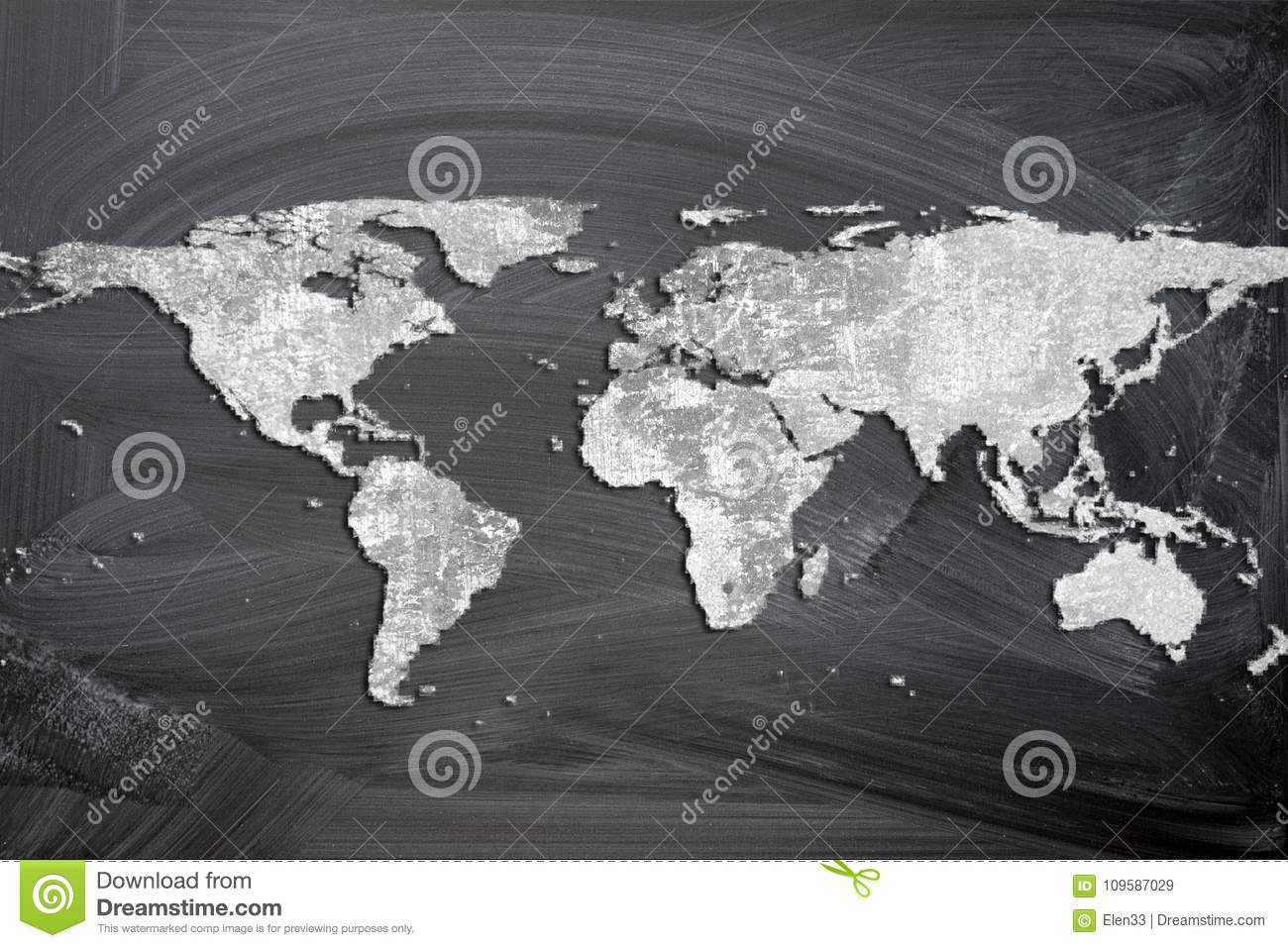 World map stock image. Image of africa, europe, geography - 109587029