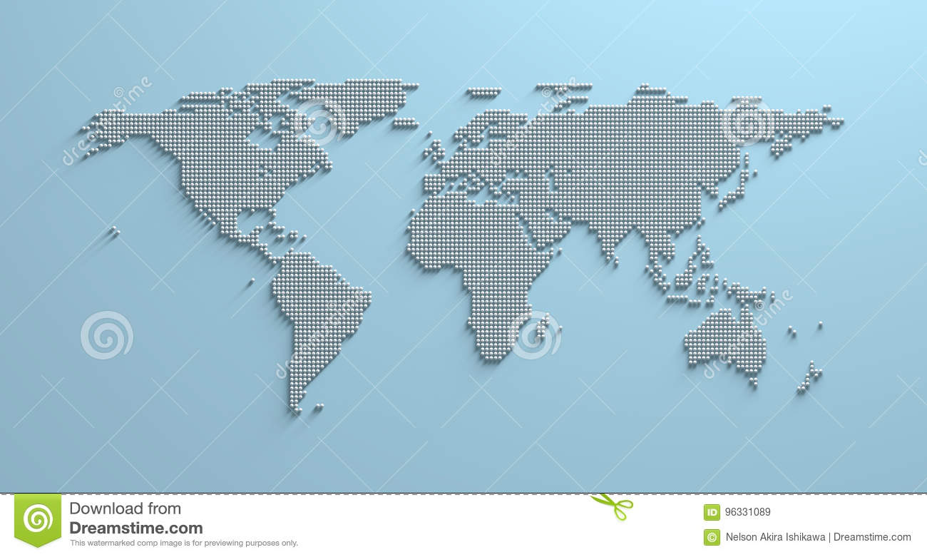 World map 3d stock illustration illustration of asia 96331089 world map 3d asia land royalty free illustration download gumiabroncs Gallery