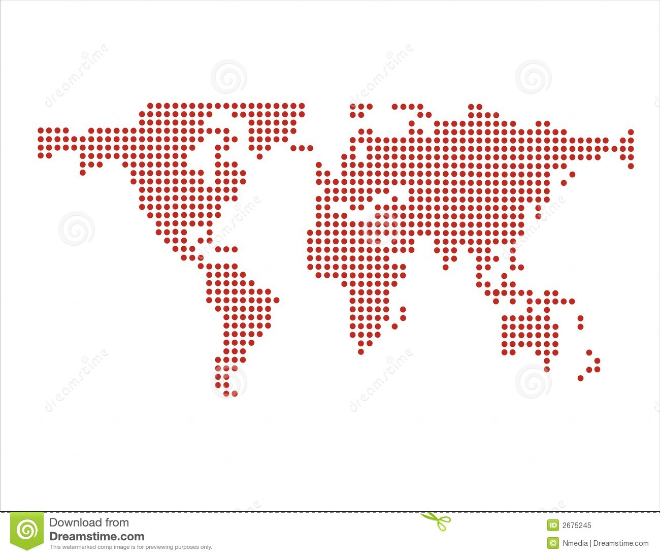 World map in dots vector stock vector illustration of dots 2675245 world map in dots vector gumiabroncs Image collections