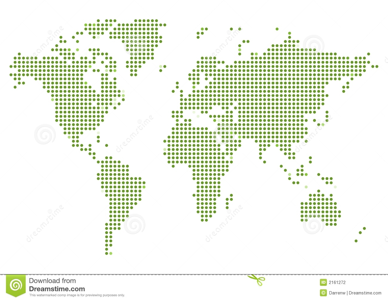 Dotted world map stock vector illustration of africa 2747360 world map dotted stock photography gumiabroncs Images