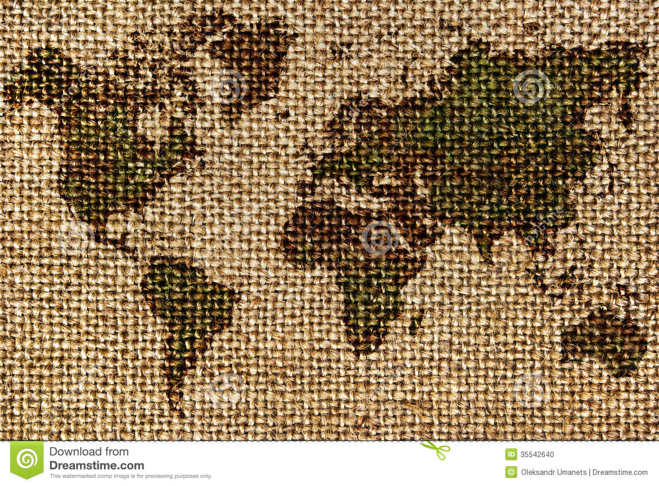 World map drawn on a roughold fabrics stock photo image of fabric world map drawn on a roughold fabrics stock photo image of fabric rough 35542640 gumiabroncs Images