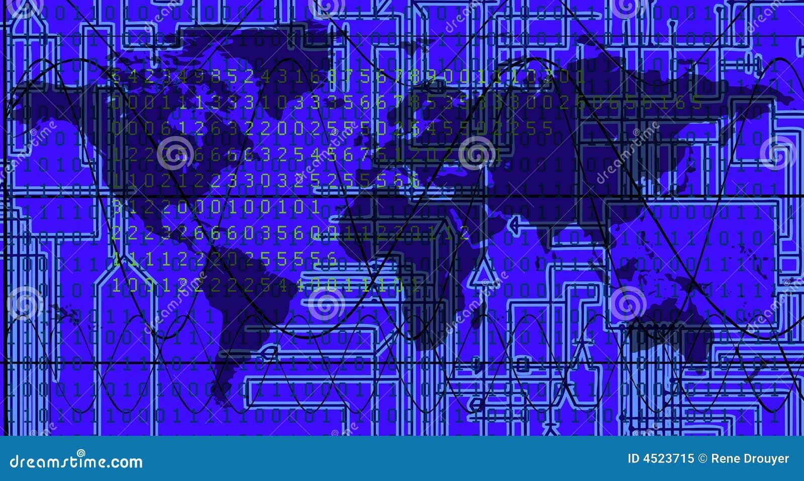 electronic world background - photo #5