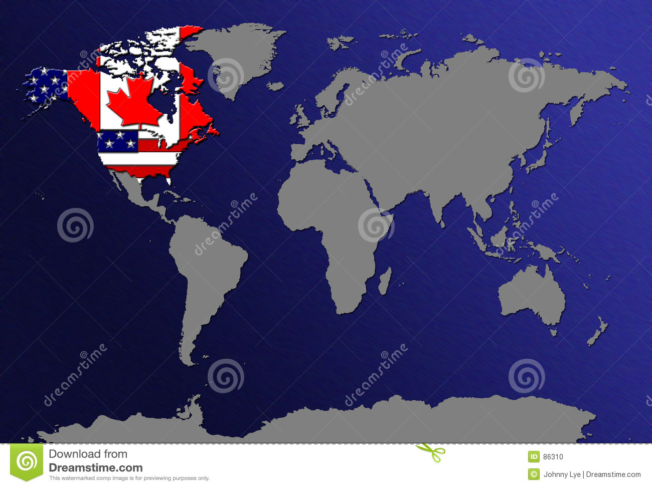 World Map With Flags Photo Image 86310 – Usa in World Map