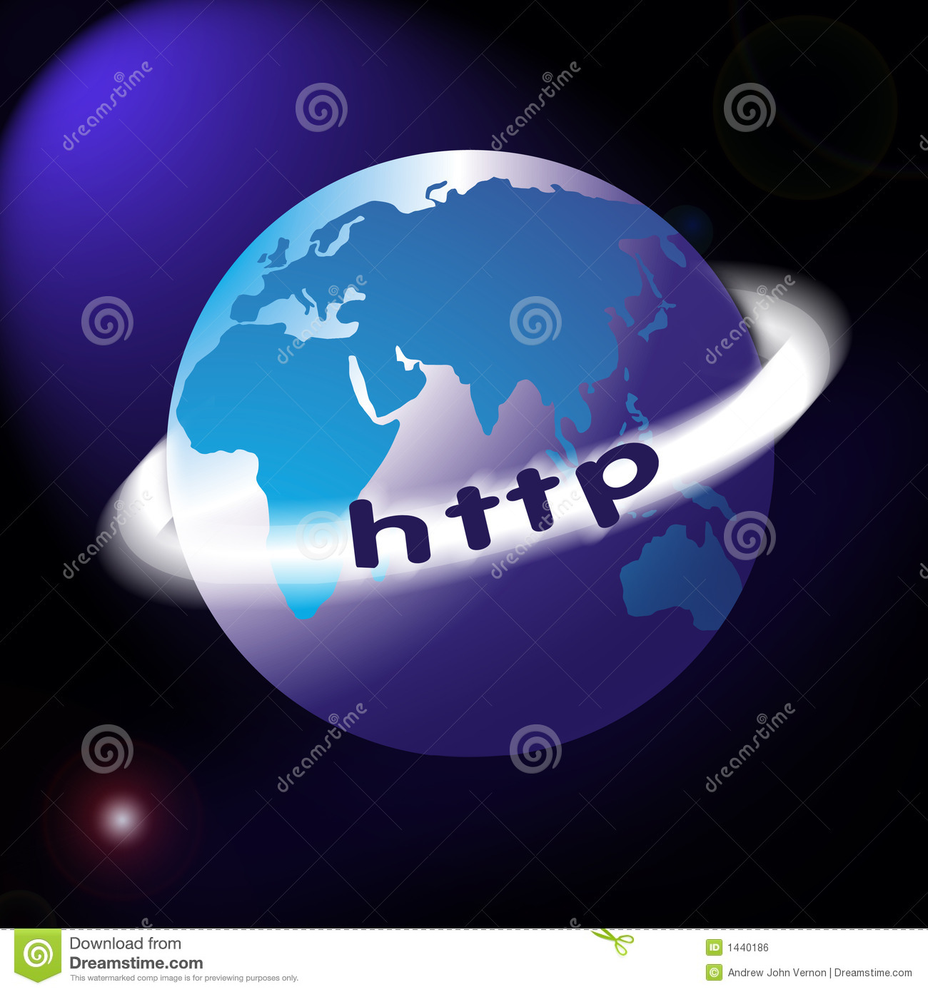 World map or globe with http ring around stock illustration download comp gumiabroncs Gallery