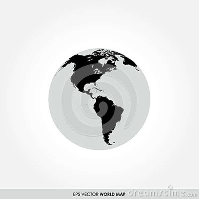 World map on globe icon stock vector illustration of accurate download world map on globe icon stock vector illustration of accurate 39163666 gumiabroncs Gallery
