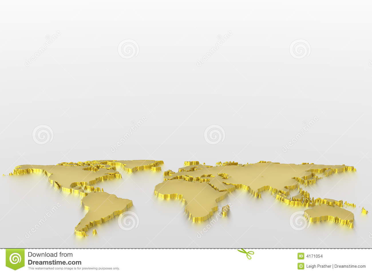 World map in gold stock illustration illustration of atlantic 4171054 world map in gold gumiabroncs Images