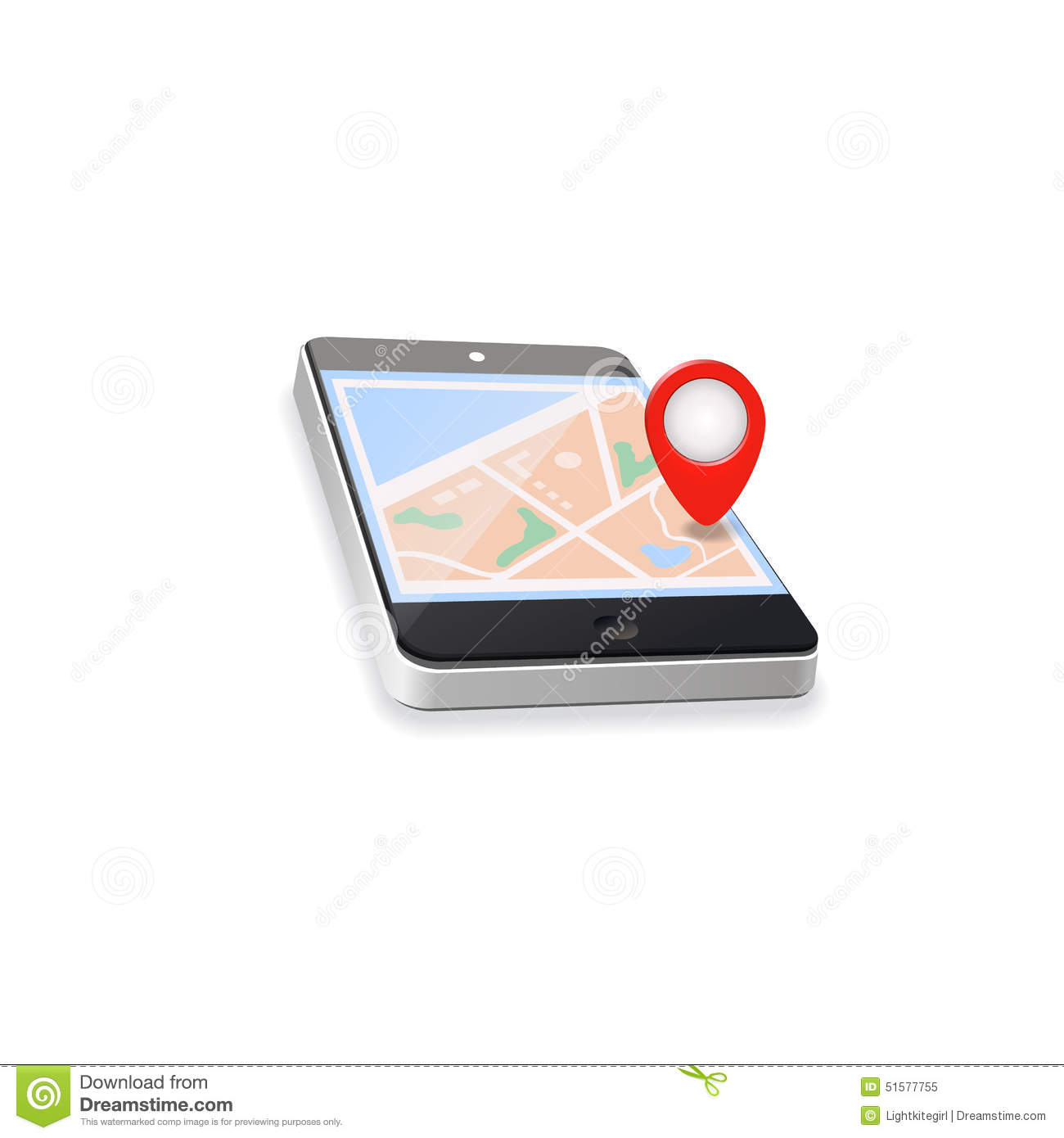 World map gps navigation mobile phone stock illustration world map gps navigation mobile phone royalty free illustration gumiabroncs Image collections