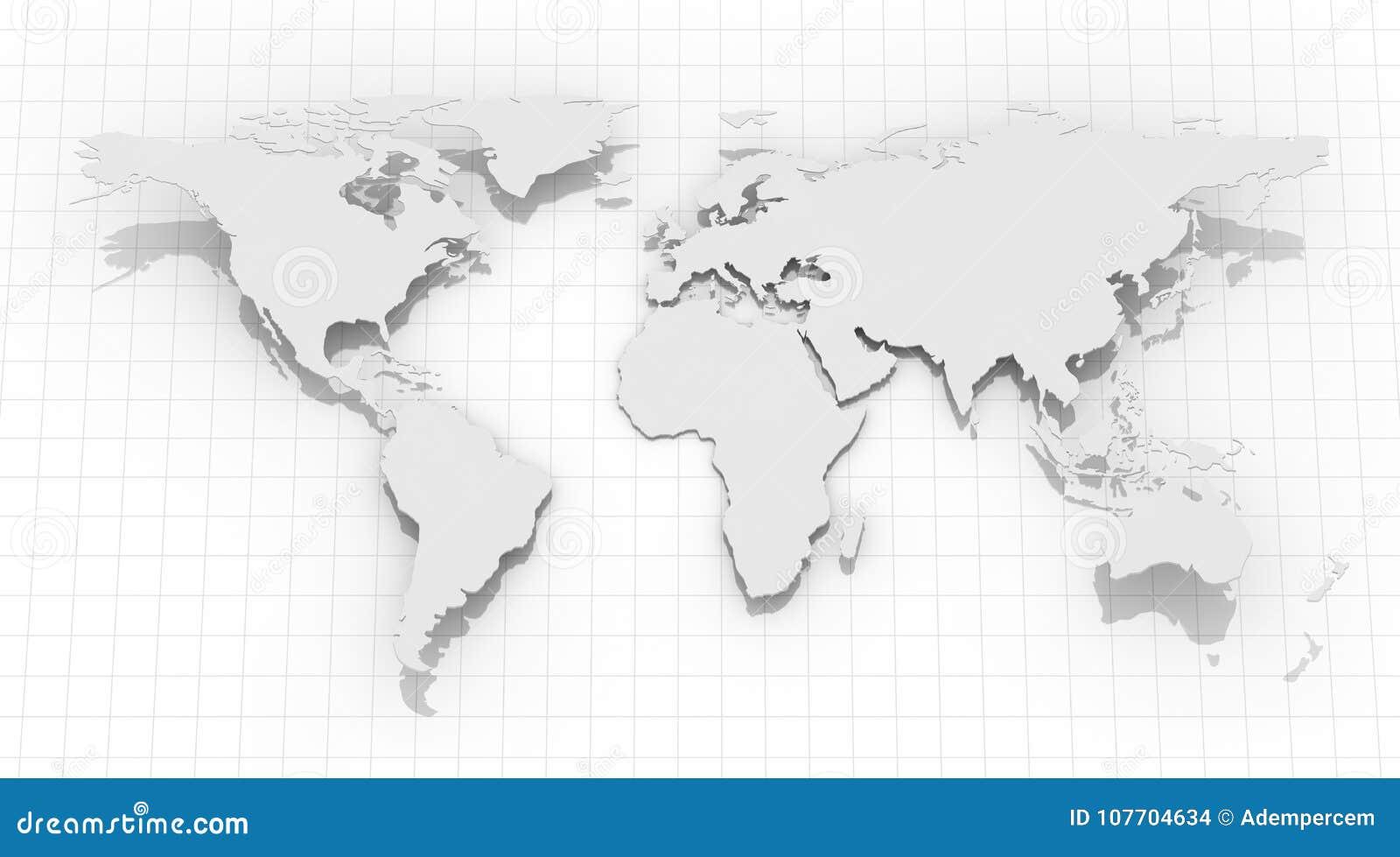 World map on grid background stock illustration illustration of world map on grid background royalty free stock photo gumiabroncs Choice Image