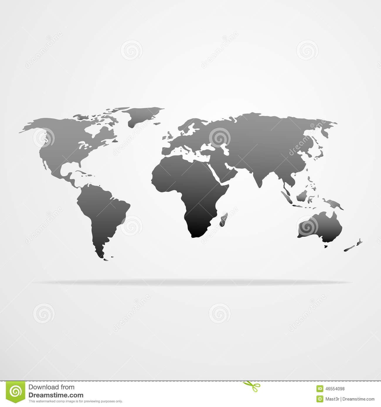 World map icon gray vector illustration illustration 46554098 megapixl royalty free gumiabroncs Choice Image