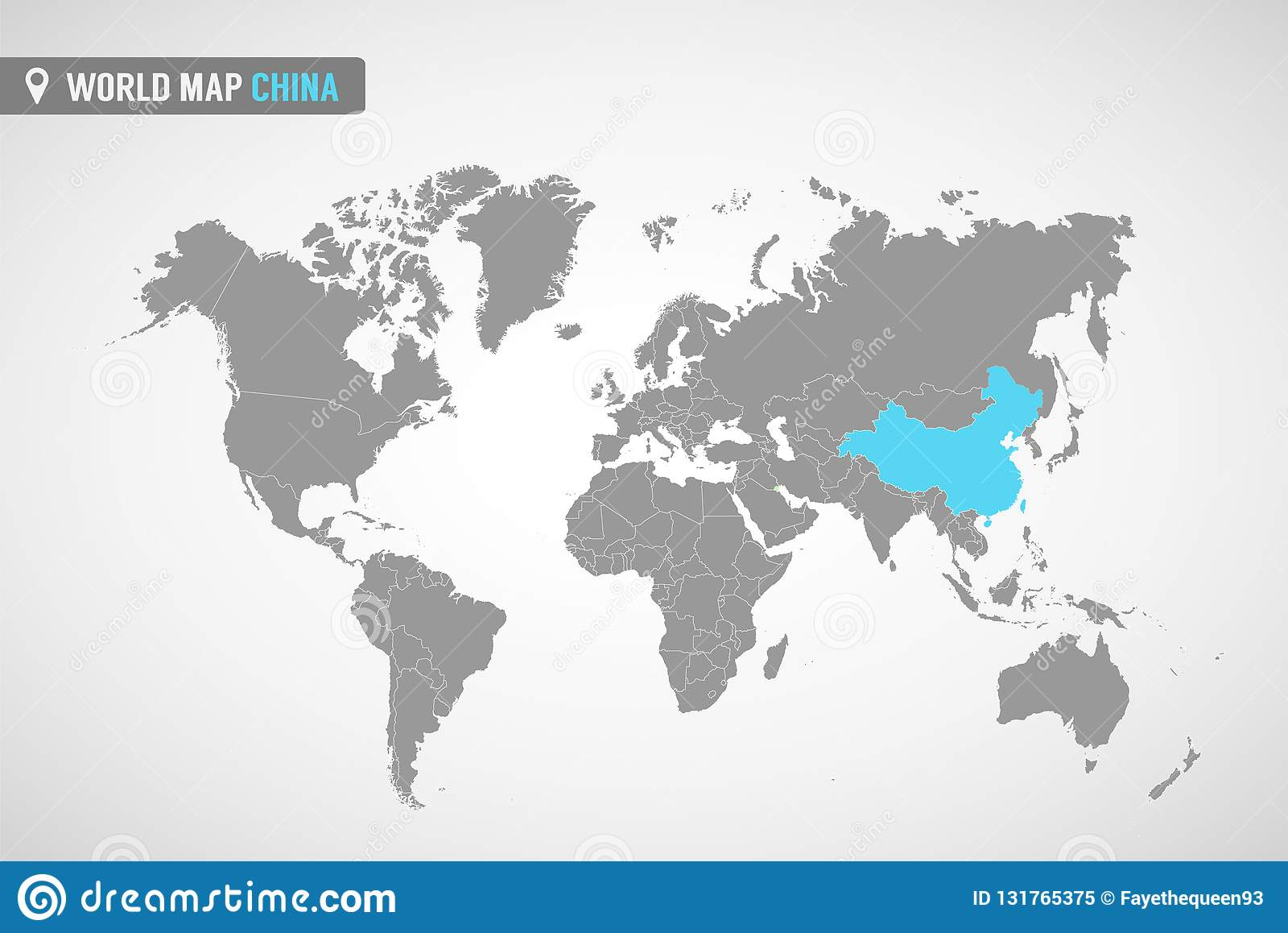 China On Map Of Asia.World Map With The Identication Of China Map Of China Political