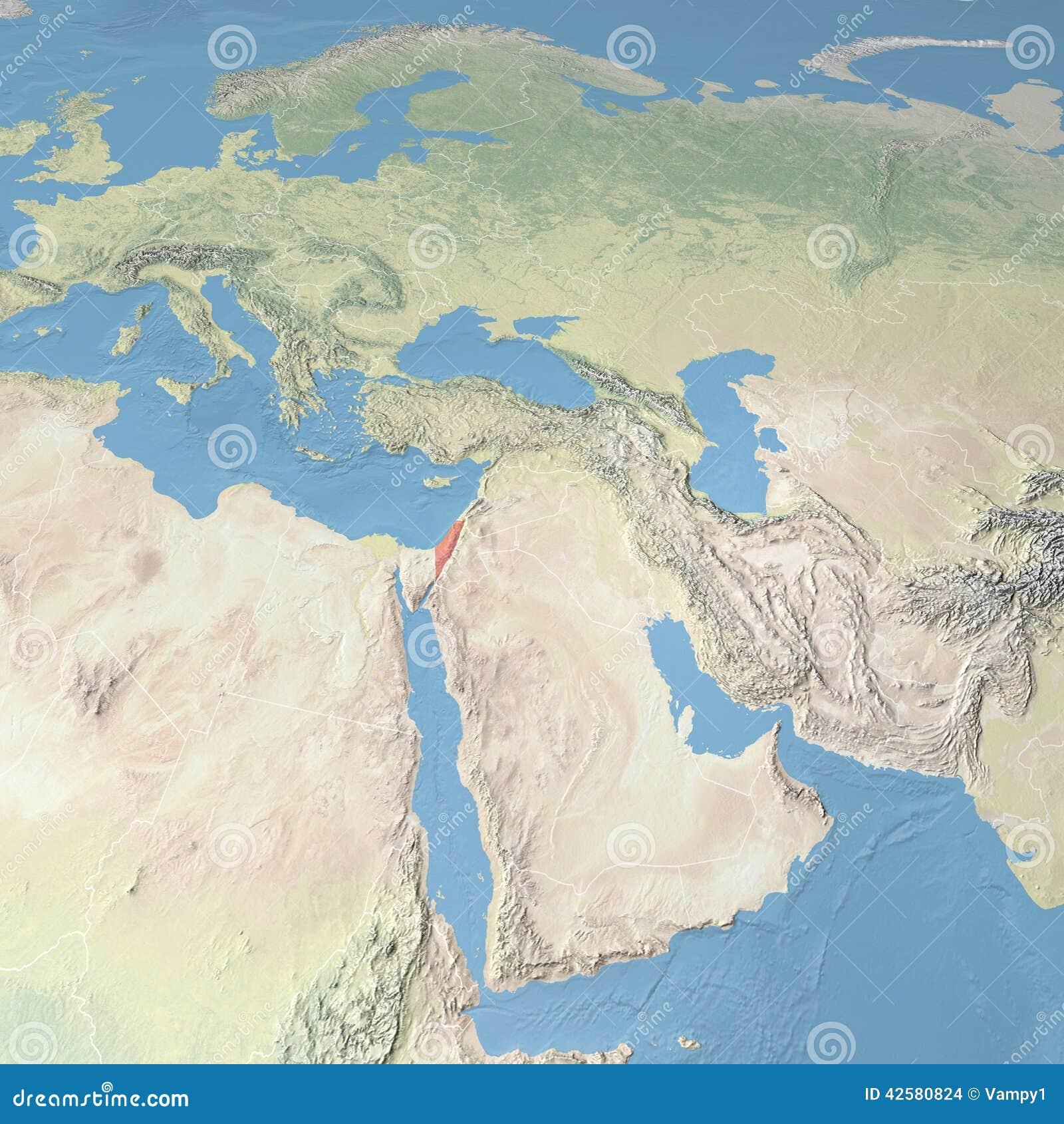 World Map, Israel stock illustration. Illustration of jerusalem ...