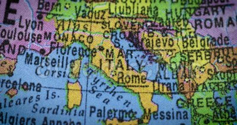 World map of italy country stock footage image of southern 115621650 gumiabroncs Images