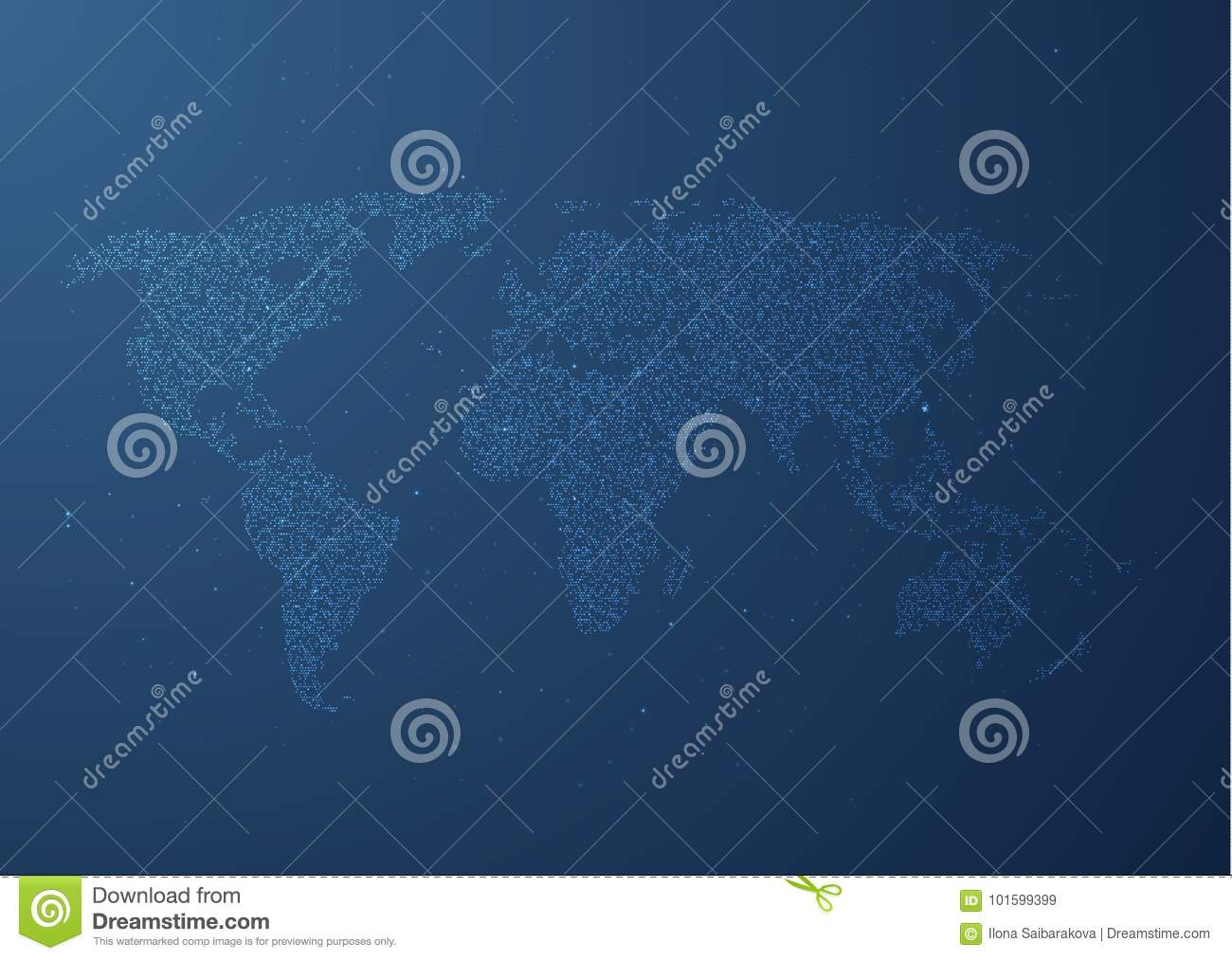 World map vector background eps10 stock vector illustration of download comp gumiabroncs Images