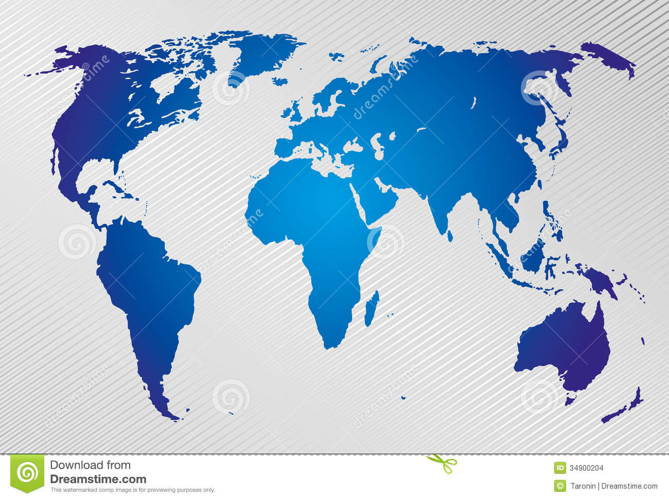 World Map On Modern Background Stock Images Image 34900204