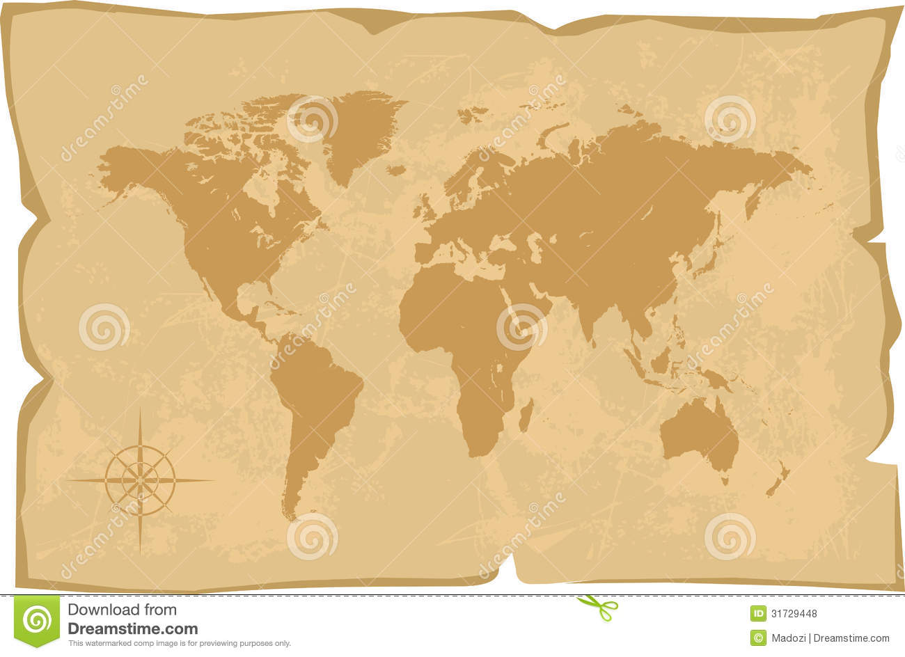 world map old style royalty free stock photos image. Black Bedroom Furniture Sets. Home Design Ideas