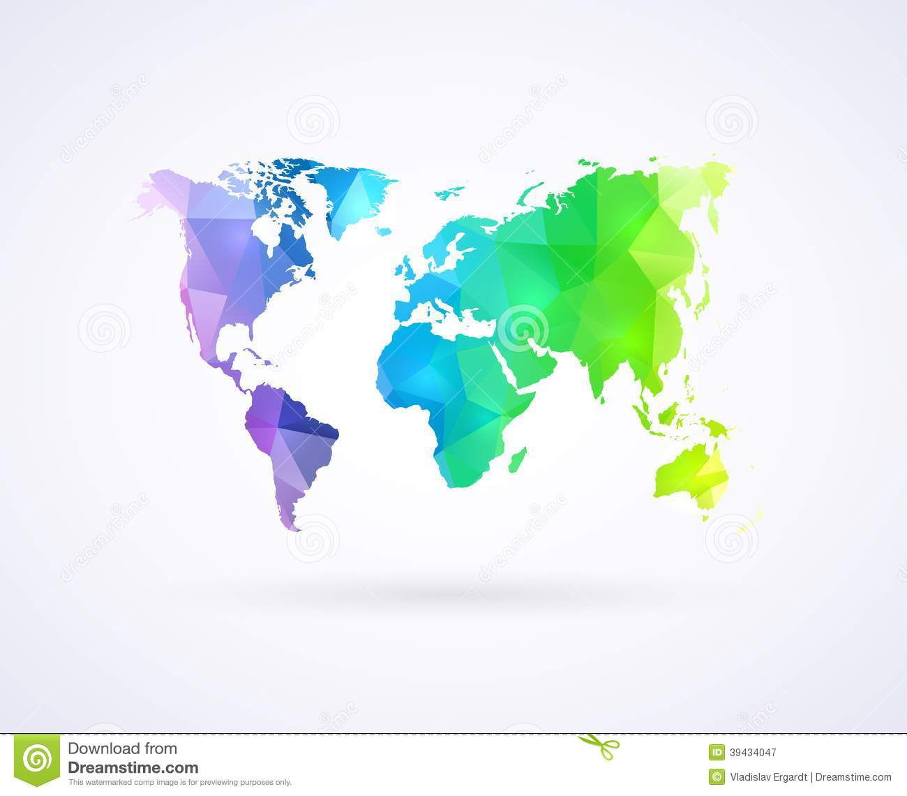 World map of rainbow color stock vector image of australia 39434047 world map of rainbow color gumiabroncs Image collections