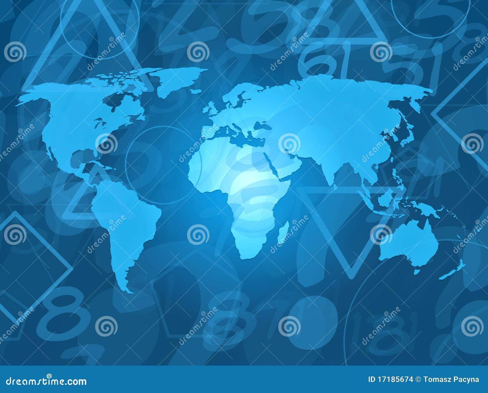 Random World Map.World Map With Random Letters Stock Illustration Illustration Of