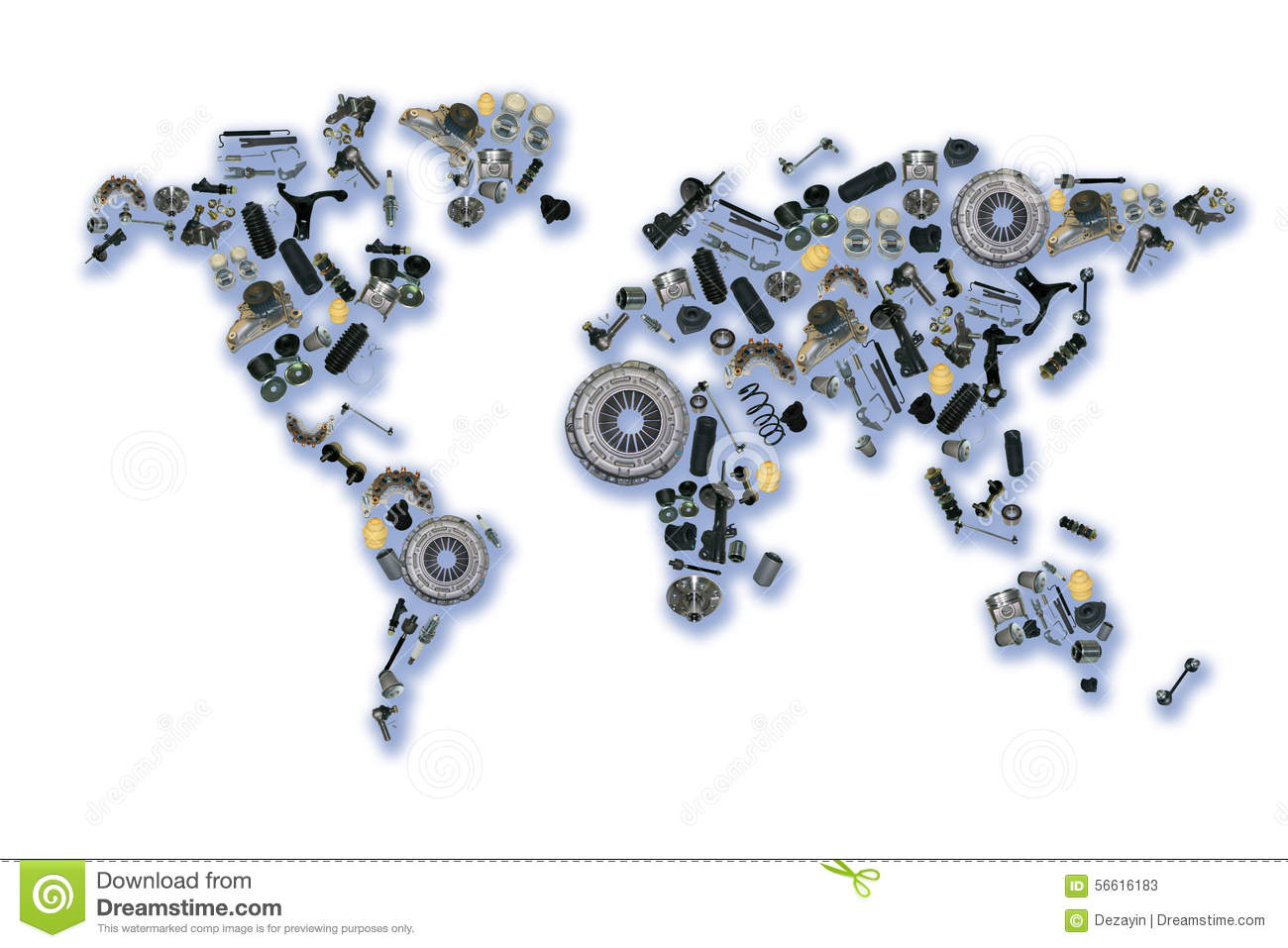 World map of the spare parts for shop auto stock image image of world map of the spare parts for shop auto gumiabroncs Gallery