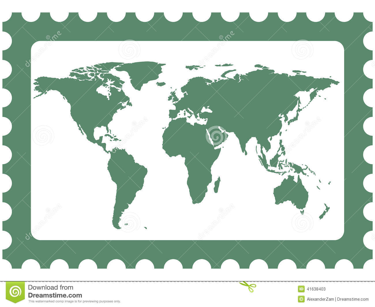 World map on stamp stock vector illustration of world 41638403 world map on stamp royalty free vector gumiabroncs Images