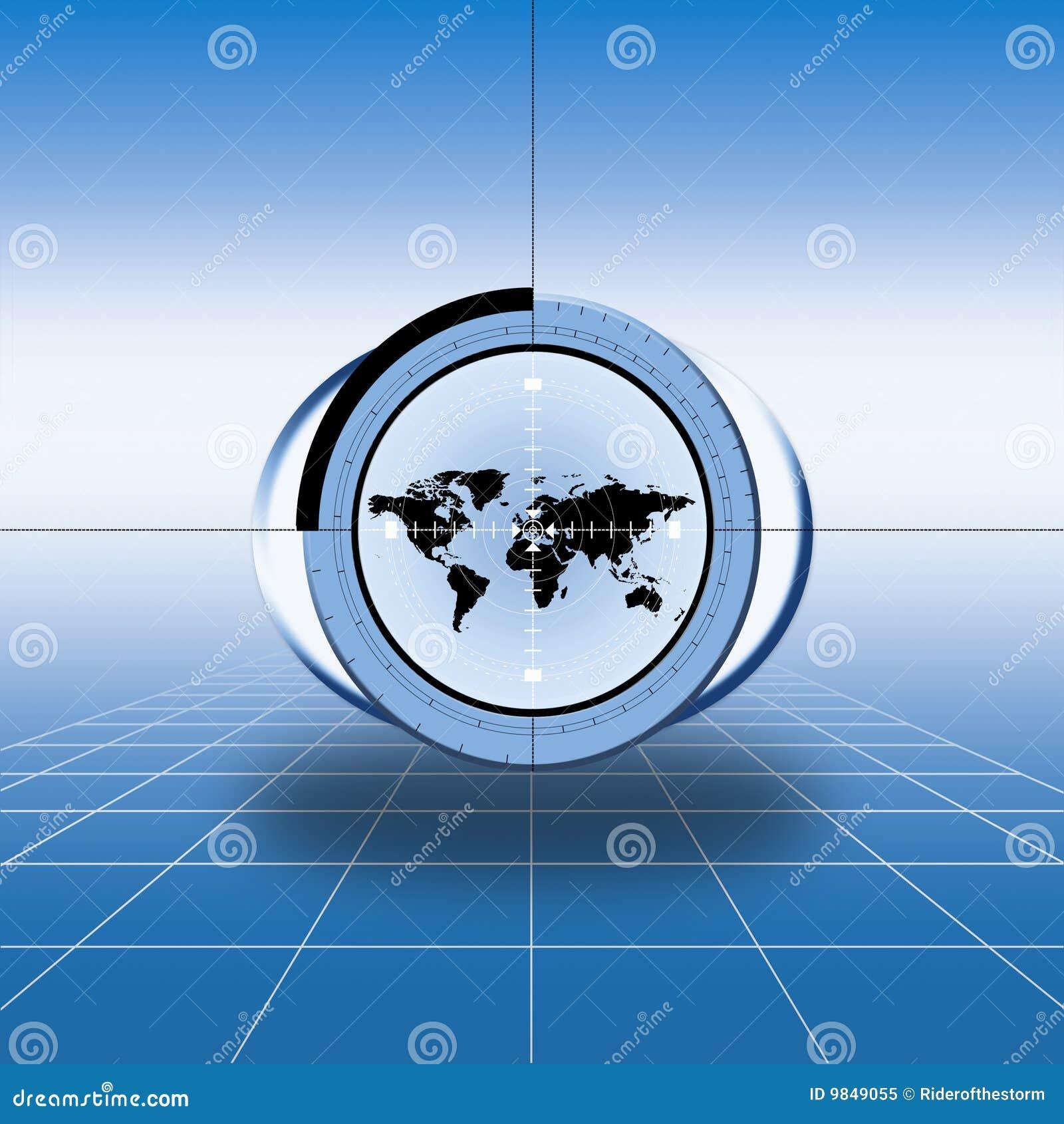 World Map Target Timekeeperwatches