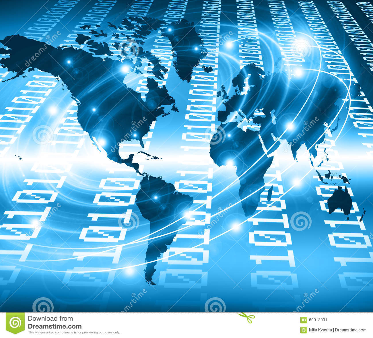 World map on a technological background glowing stock image image download comp gumiabroncs Choice Image