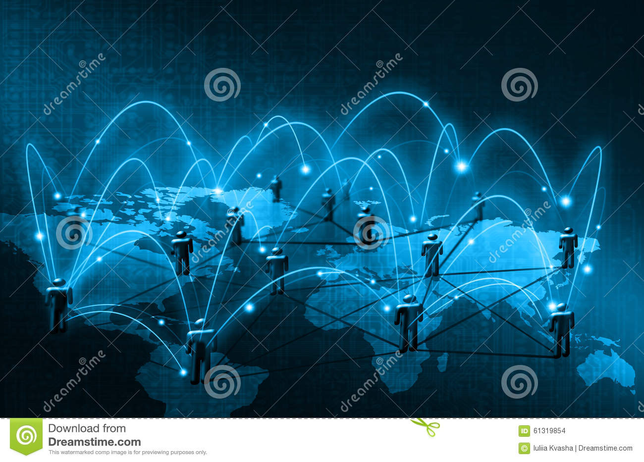 World map on a technological background glowing stock royalty free illustration download world map on a technological background glowing stock gumiabroncs Gallery