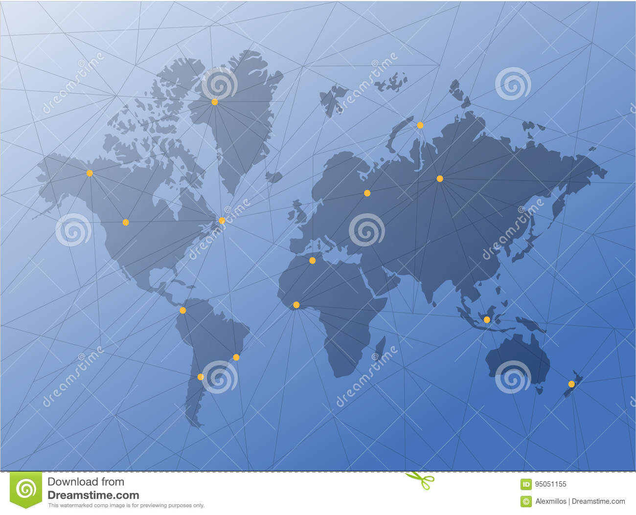 World map technology network diagram link stock illustration world map technology network diagram link royalty free illustration gumiabroncs Image collections