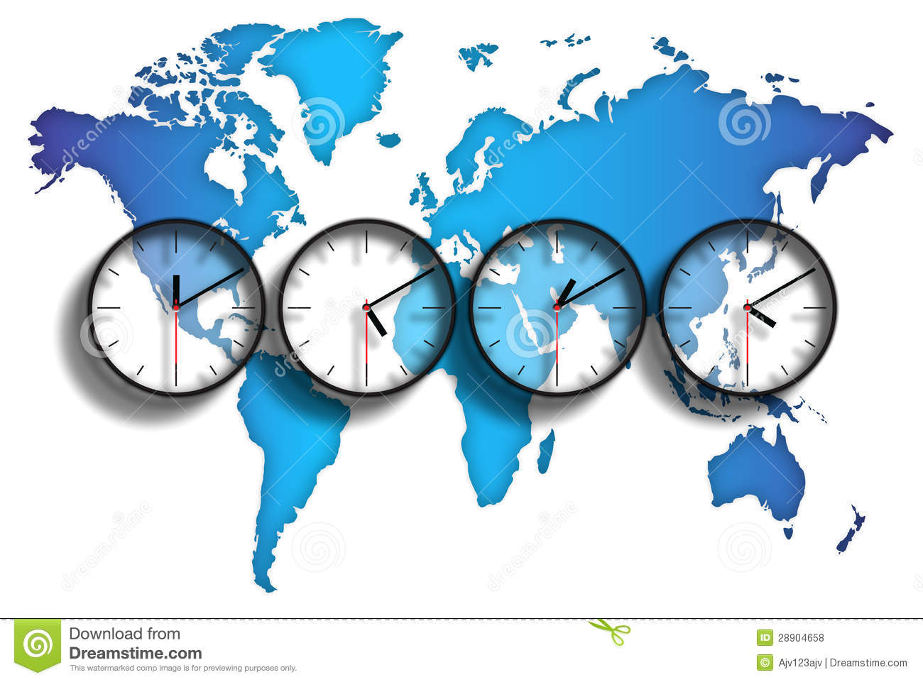 World map time zones stock illustration illustration of kingdoms world map time zones gumiabroncs Gallery