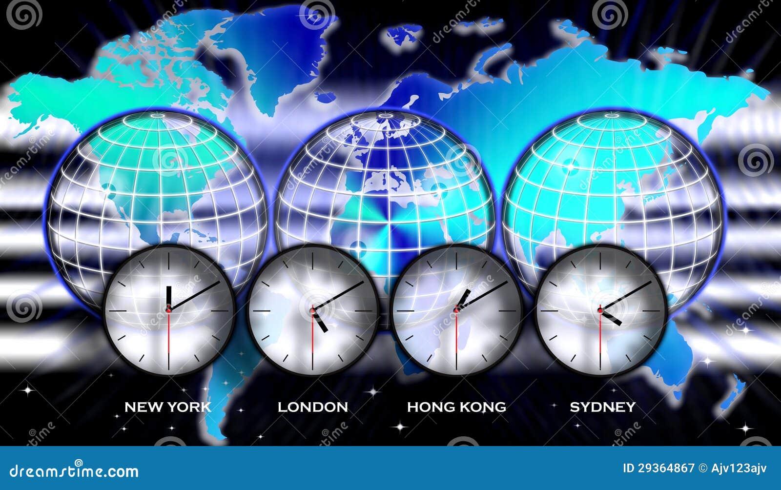 United States Timezone Map Royalty Free Stock Photo Image - World map time zones now