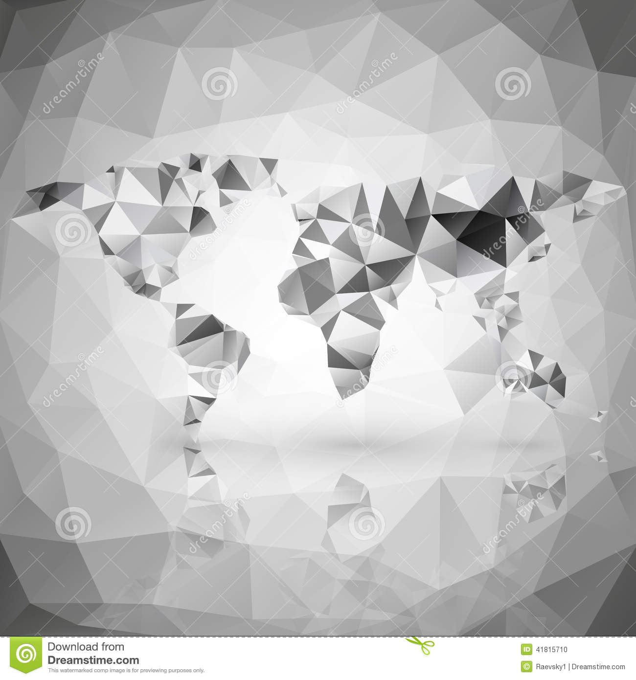 World map triangle design vector illustration stock vector world map triangle design vector illustration gumiabroncs Gallery