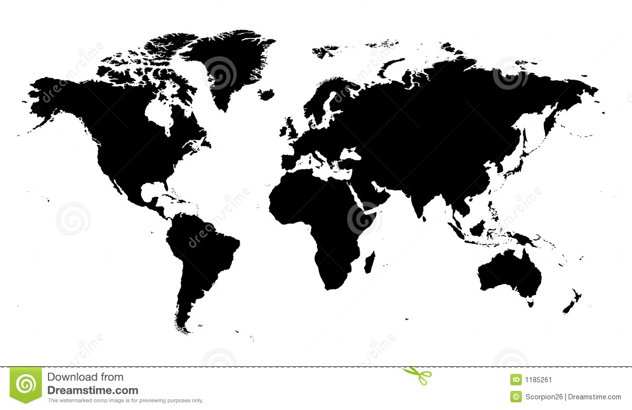 World map vector stock vector illustration of digital 1185261 world map vector gumiabroncs Images