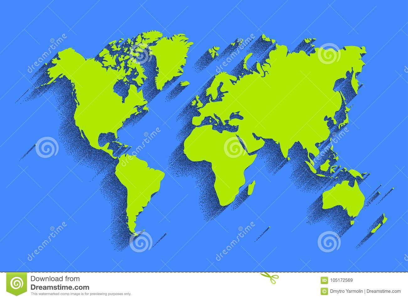 World map vector color background with shadow stock vector world map vector color background with shadow royalty free vector gumiabroncs Image collections
