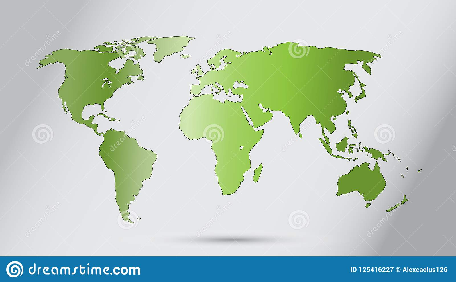World map vector ecology concept green world flat earth map for world map vector ecology concept green world flat earth map for website annual report infographics world map illustration vector illustration gumiabroncs Image collections