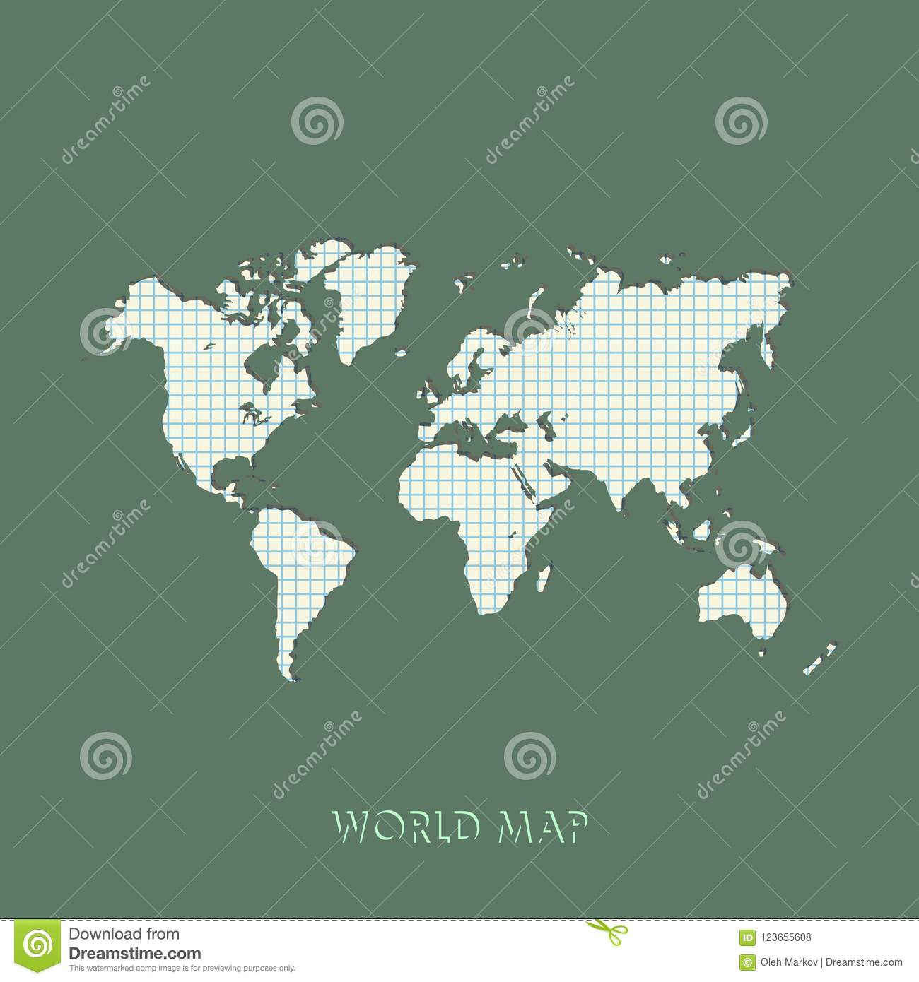 World Map Vector Illustration. Mercator Projection Worldmap. Stock on model of map, set of map, photography of map, drawing of map, map of map, animation of map, texture of map, element of map, depression of map, shape of map, scale of map, type of map, view of map, orientation of map,
