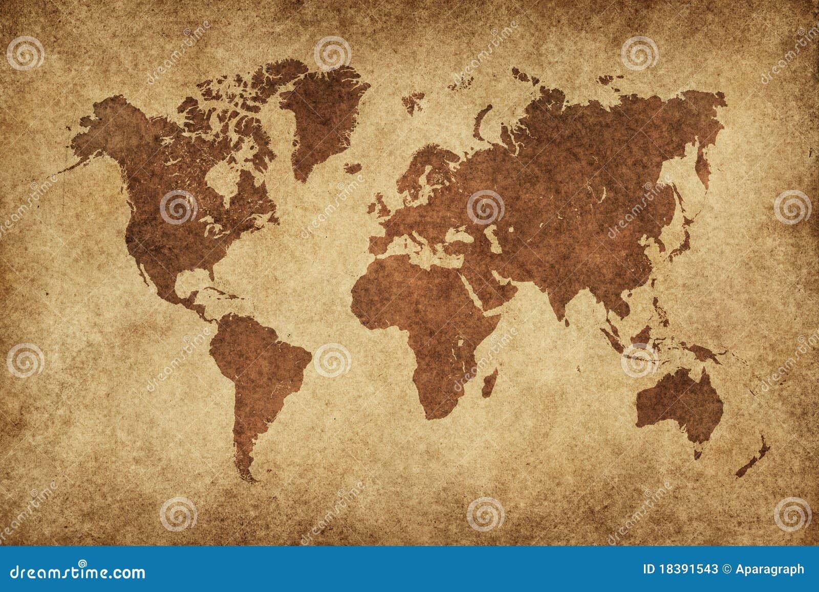 world map in vintage pattern royalty free stock image. Black Bedroom Furniture Sets. Home Design Ideas