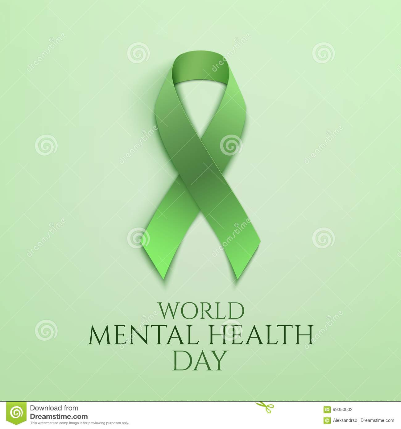 world mental health day background - Free Mental Health Brochure Templates