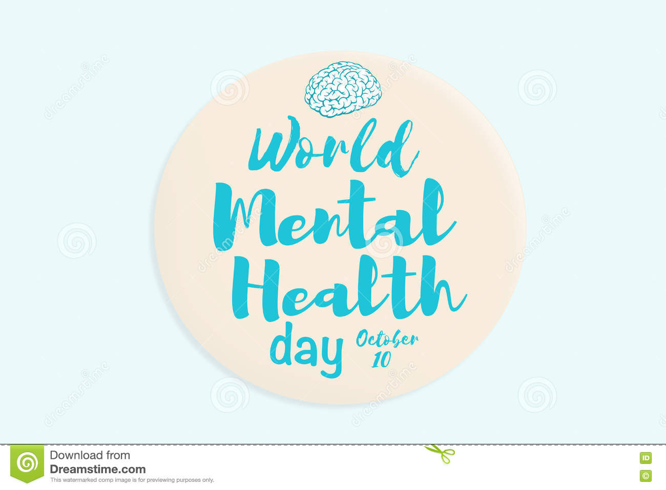 world mental health day stock illustration   image 73398161